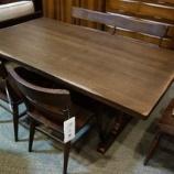 『【限定特価】限定一台・柏木工のウィルダネス・ダイニングテーブル・KT15H』の画像