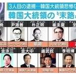 韓国歴代大統領の悲惨な末路・・・中国ネット「そもそも国の成り立ちがおかしいから!」「北朝鮮の方がマシ!」