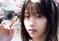 【綺麗】西野七瀬、桜とともに写るはかなげな表情が良い・・・