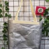 『釧路から新たなサステナブルな商品が誕生!テント生地の切れ端がバッグに生まれ変わりました!』の画像