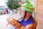 交野についての相談はお任せ!の『ファッションおじさん』と遭遇した!~今回は、ヘビだ!~