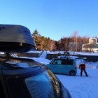 『2018/01/13_最強寒波の四阿山スキー』の画像