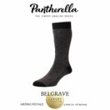 『入荷 | Pantherella (パンセレラ)  555214-001 BELGRAVE 【BLACK】 メンズ』の画像