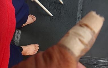 『ownerの怪我とお盆休み前最後のジム』の画像