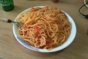 ワイの作ったスパゲッティ評価してクレメンス