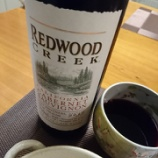 『カリフォルニア産赤ワイン~REDWOOD CREEK(レッドウッド クリーク)[2015]』の画像