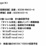『坂道AKBの第三弾が決定!3/13発売『AKB48 55thシングルTYPE-B』に収録』の画像