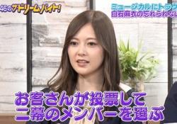 """【悲報】白石麻衣さん、""""コレ""""が苦手だった・・・・・"""