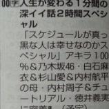 『白石麻衣 4月17日『深イイ話 2時間スペシャル』でまいやん特集キタ━━━━(゚∀゚)━━━━!!!』の画像