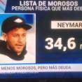 【悲報】ネイマールさん,税金43億円超滞納してしまう....個人としてはスペイン国内最高の滞納額