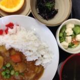 『今日のあべQ(野菜カレー)』の画像