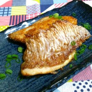 鯛のカリカリ焼き