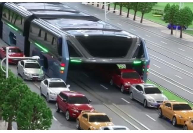 中国が考案した1200人乗りの超巨大バスの発想が天才的wwwwww