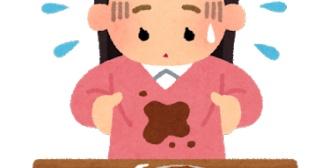 女友だちの服にコーヒーこぼしたら大事な服なのにって泣かれた。クリーニング代払うって言ってるのに泣きっぱなしでイラついたわ、これ以上俺にどうしろと?