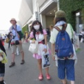 時代を先取り?2016年開催の夏コミケ90は、酷暑の中、既にマスクを着用していた
