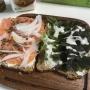 コストコおすすめのオーガニック21穀パン×コストコサーモンで激ウマサンド♡