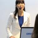 最先端IT・エレクトロニクス総合展シーテックジャパン2013 その15(オムロンの1)