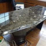 『イタリアのラバーマール社の大理石テーブルのメンテナンス』の画像