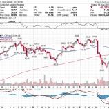 『【悲報】クソダサい投資家に人気のフットロッカー、わずか三カ月で半値以下にwww』の画像