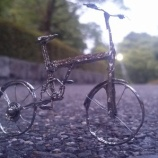 『2014年はんだ付けアート コンテスト応募作品 「自転車」』の画像