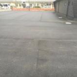 『愛知県名古屋市守山区 葬儀場駐車場アスファルト舗装工事 施工例』の画像
