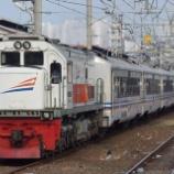 『新型客車も早くも波動用に!急行Tawang Jaya Lebaran』の画像