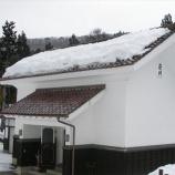 『屋根の雪下ろし』の画像