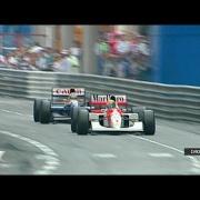 アイルトンセナとナイジェルマンセル 伝説のモナコグランプリ(Formula 1 1992 Ayrton Senna vs Mansell GP Monaco)