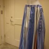 『KEITA MARUYAMA(ケイタマルヤマ)ミックスストライプスカート』の画像