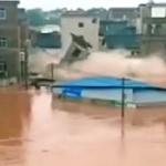 【動画】中国、通告なしでダム放水し洪水に、多数が流される!当局「死傷者なし」 [海外]