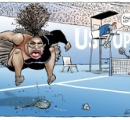 激高するセレーナの「差別的」風刺画に世界中から批判殺到へ