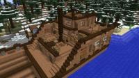 ピラミッド区の港に客船を作る (3)