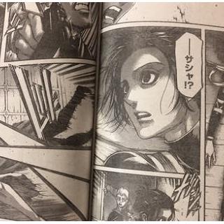 『進撃の巨人のサシャ 死亡』の画像