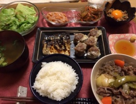 【画像】セクシー女優・天海つばささんの夕食をご覧ください