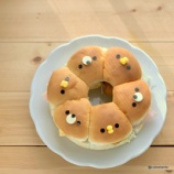 『市販のちぎりパンで作るデコちぎりパン』の画像