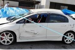 大学生が時速150kmで運転し事故(無傷)「100kmで曲がることを危険だと思ってなかった」同乗の女子大生(20)は四肢麻痺