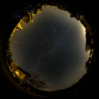 『全天球パノラマによる星景写真(その2)』の画像