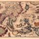 大昔の地図がファンタジー過ぎる