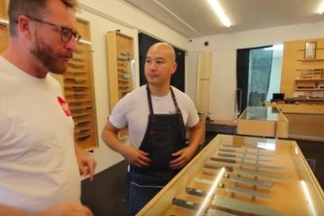海外「うんうん、良い包丁って良いよね〜」日本の鉄マニアが集めた包丁を愛でる海外の人々