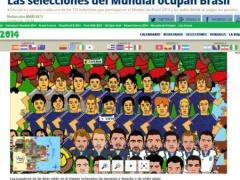 スペイン紙・マルカの「W杯出場国の選手イラスト」の韓国代表がヒドイと話題
