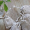 【お家時間でアロマ工作】剪定した残り植物で作った好きな香りの消臭・防虫サシェ