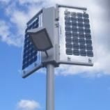 『高輝度LED街路灯』の画像