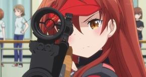 【ライフル・イズ・ビューティフル】第10話 感想 Sランク美少女の危機と意地