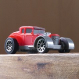『バタット Driven プルバックカー WH1125Z 赤い車』の画像