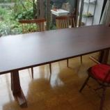 『丸亀市にSWINGのメンテナンス完了のテーブルを納品』の画像
