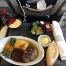 北イタリア旅行24 帰国便 機内食アラカルトメニュー
