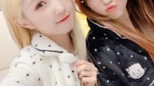 IZ*ONE奈子&仁美がVLIVE配信 210109