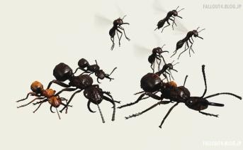 ヌカワールドの蟻が連邦にも出現するMOD