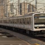 『埼京線に入線した車両はなぜ少ないのか』の画像