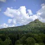 『天空の城、ホーエンツォレルン城』の画像